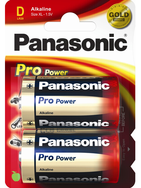 Panasonic Power Max 3 Alkaline Batterien Monozelle